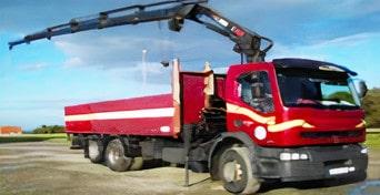 Camiones grúa para tus cargas